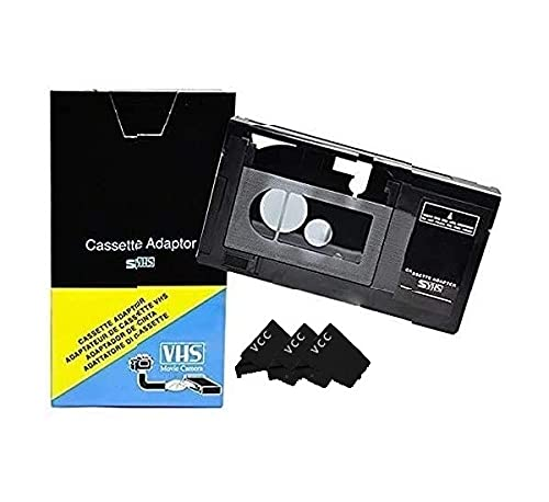 Motorized VHS-C to VHS Cassette Adapter for SVHS Camcorders JVC RCA...