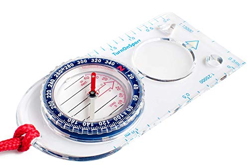 Orienteering Compass - Hiking Backpacking Compass - Advanced Scout Compass...