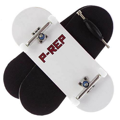 P-REP FP - Solid Performance Complete Wooden Fingerboard (Chromite, 34mm x...