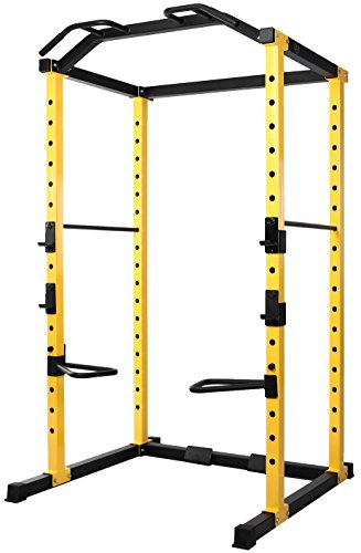 HulkFit 1000-Pound Capacity Multi-Function Adjustable Power Cage with...