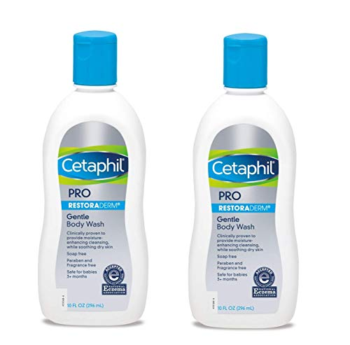 Cetaphil Restoraderm Eczema Calming Body Wash, Soothing Relief 10-Ounce...