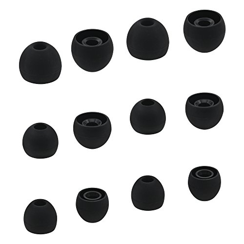 ALXCD Eartips for Sony in-Ear Headphone, (S/M/L) 6 Pair Silicone...