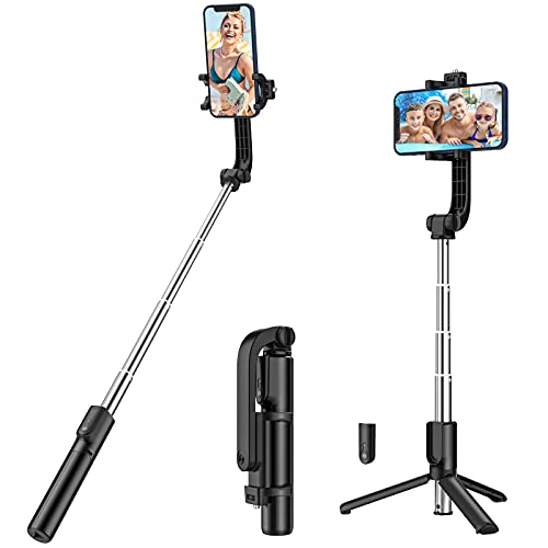 Yoozon Selfie Stick Phone Tripod, All in One Extendable & Portable iPhone...