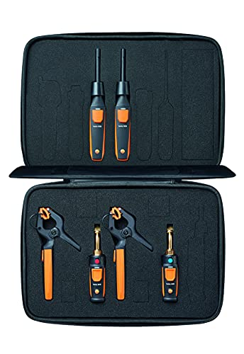 testo Smart Probe Kit I HVAC/R Test and Load Set for air Conditioning,...