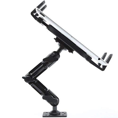 Industrial Metal Drill Base Tablet Mount - By TACKFORM [Enduro Series] -...