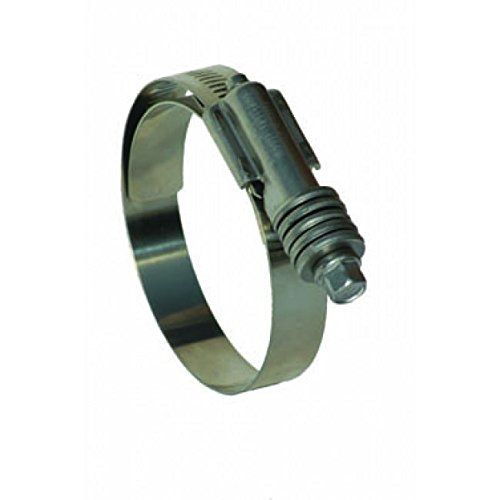10 Pack Breeze CT-9444 Aero-Seal Constant Torque Liner Clamp with Stainless...