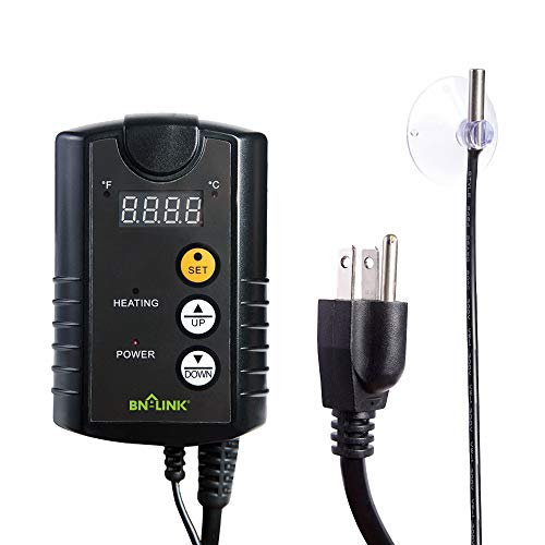 BN-LINK Digital Heat Mat Thermostat Controller for Seed Germination,...