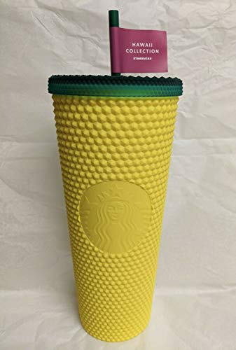 Starbucks 2020 Hawaii Exclusive Collection Matte Studded Pineapple 24oz...