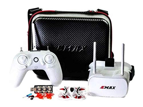 EMAX Tinyhawk RTF Micro Indoor Racing Drone with FPV Goggles and Controller...
