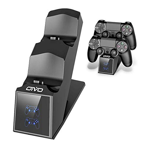 PS4 Controller Charger, PS4 Charger USB Charging Dock Station for Dualshock...