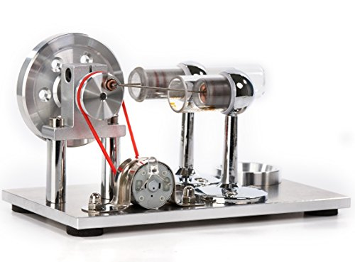Sunnytech Hot Air Stirling Engine Motor Model Educational Toy Electricity...