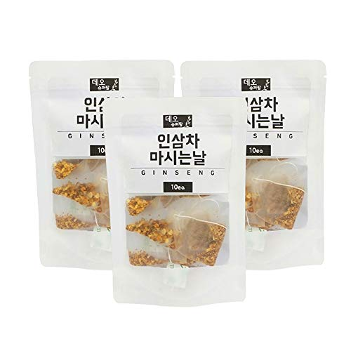 DEO Korean Insam Panax Ginseng Tea 30T 50T grounded Healthy te Improve...