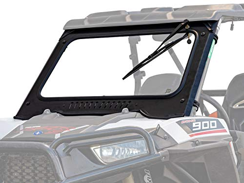 SuperATV Vented Front Glass Windshield for 2016-2018 Polaris RZR XP...