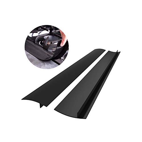 CozyKit Silicone Kitchen Stove Counter Gap Cover Long & Wide Gap Filler (2...