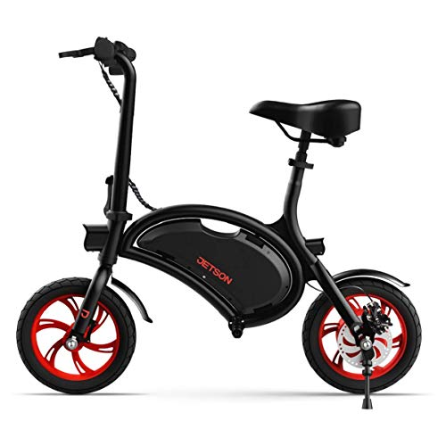 Jetson Electric Bike Bolt Folding Electric Bike, with Pegs - with LCD...