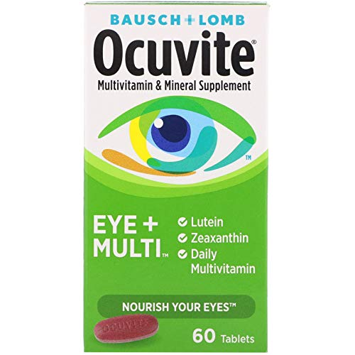 Bausch + Lomb Ocuvite Eye and Multi Multivitamin and Mineral Supplement...