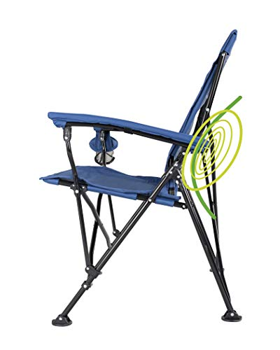 STRONGBACK Elite Folding Camping Lawn Lounge Chair Heavy Duty Camp Outdoor...