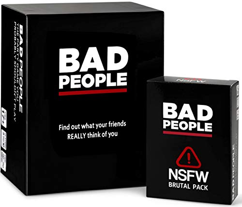BAD PEOPLE - The Party Game You Probably Shouldn't Play + The NSFW...