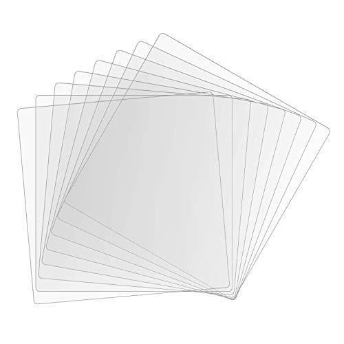 XCEL Clear Plastic Craft Polycarbonate Sheets 0.0200 Thick (8)
