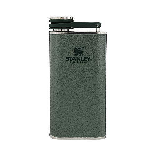 Stanley Classic Flask 8oz with Never-Lose Cap, Wide Mouth Stainless Steel...