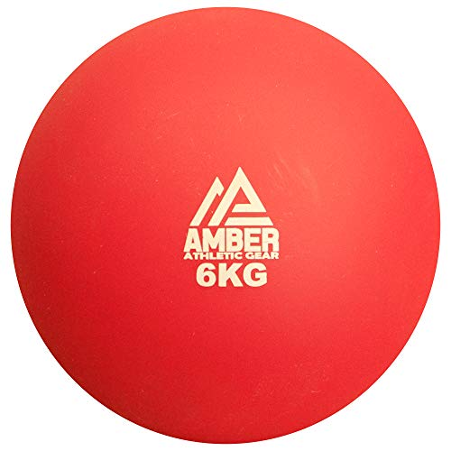 AMBER Athletic Gear Hard Shell Indoor Shot Put for Track and Field Non...