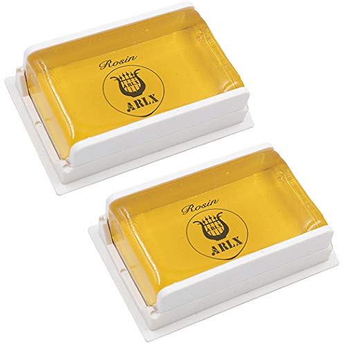 Sound harbor 2 Pack Rosin for Violin Viola and Cello Rosin for Bows (2pack...
