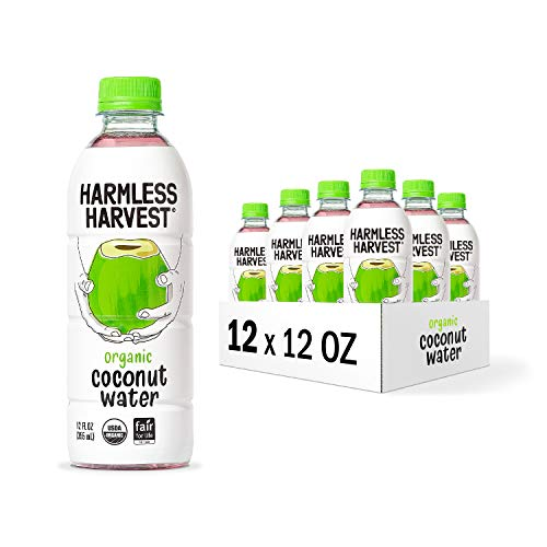 Harmless Harvest Organic Coconut Water, Hydrate With Natural Electrolytes,...
