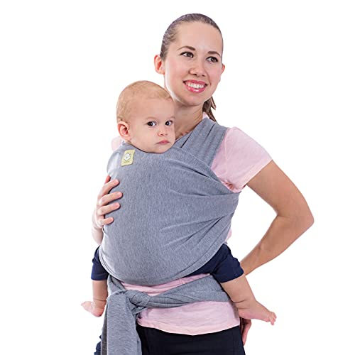 Baby Wrap Carrier - All in 1 Stretchy Baby Sling - Baby Carrier Sling -...