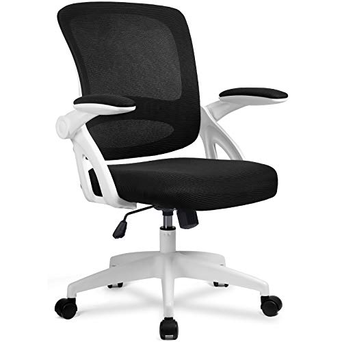 ComHoma Office Chair Ergonomic Desk Chair Mesh Computer Chair with Flip Up...