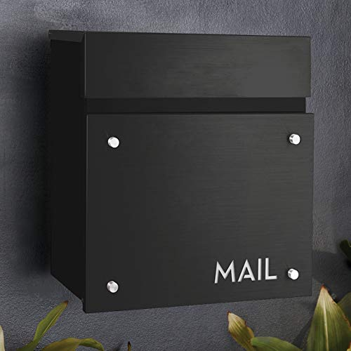 BAILEY BOXES - 14.25'H x 14'W x 5.75'D - Wall Mounted Architectural Locking...