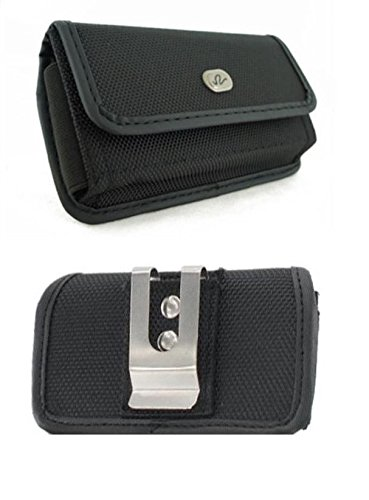 yan Canvas Case Belt Holster for Alcatel One Touch Pop Icon A564C (Fits w...