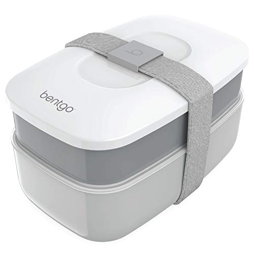 Bentgo Classic - All-in-One Stackable Bento Lunch Box Container - Modern...