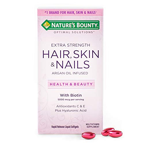 Extra Strength Hair Skin and Nails Vitamins by Nature's Bounty Optimal...