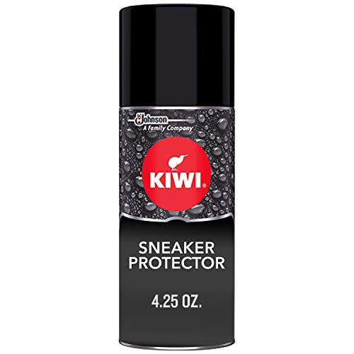 KIWI Sneaker Protector 4.25 oz - Stain Repellent and Waterproof Spray for...