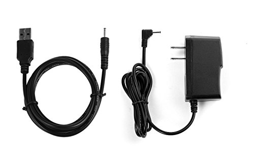NiceTQ Replacement Home Wall AC Power Adapter Charger + DC USB Charging...