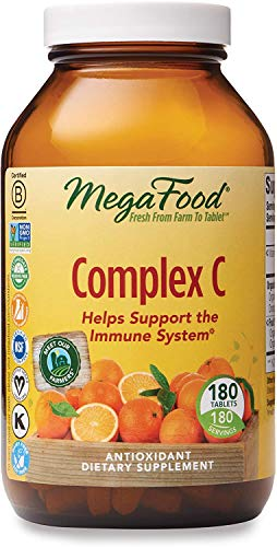 MegaFood, Complex C, Supports a Healthy Immune System, Antioxidant Vitamin...