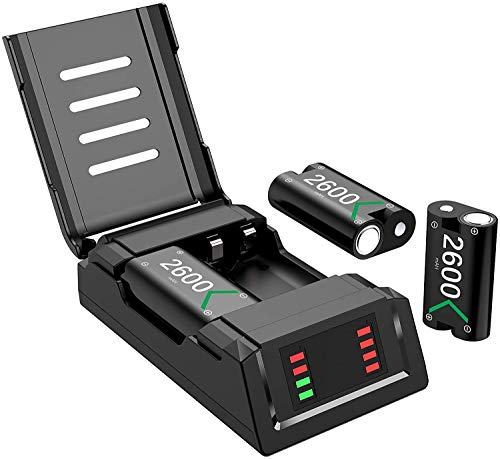 Xbox one Battery Pack Rechargeable, Xbox Controller Battery Pack, Charging...