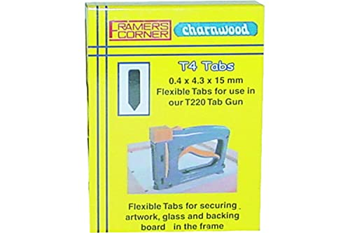 Replacement Flexible Tabs for the Picture Frame Assembly Tab Gun (2,500...