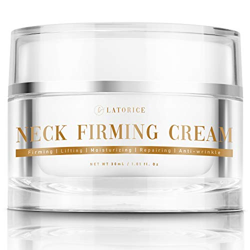 Neck Firming Cream, Wrinkle Cream, Moisturizer for Neck and Chest, Formula...