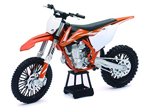 New-Ray KTM 450 SXF Dirt Bike, Realistic and Functional, Kids Toy or...
