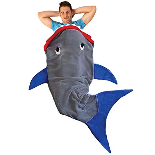 Blankie Tails   Shark Blanket, New Shark Tail Double Sided Super Soft and...