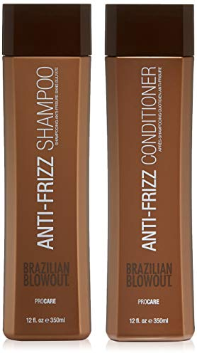 BRAZILIAN BLOWOUT Shampoo and Conditioner Duo Set, Packaging May Vary