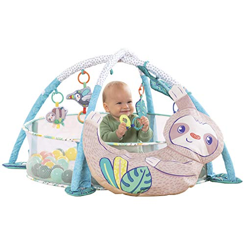 Infantino 4-in-1 Jumbo Baby Activity Gym & Ball Pit - Combination Baby...