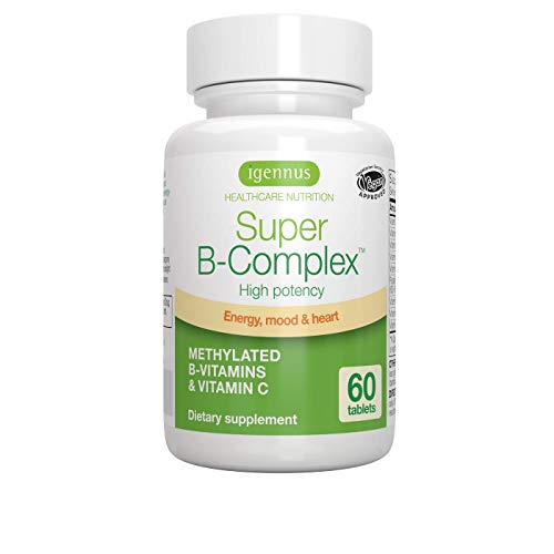 Super B-Complex – Methylated Sustained Release B Complex & Vitamin C,...
