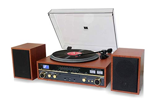 TechPlay Commander, Turntable w/Pitch Control, CD Player, Amplifier W/VU...