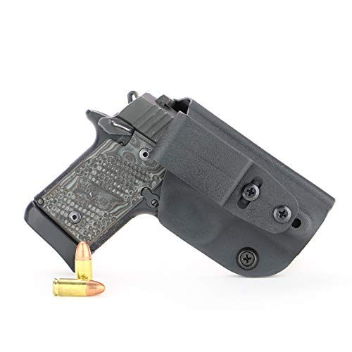 FoxX Holsters Deluxe Trapp Kydex IWB Holster - Compatible for Sig Sauer...