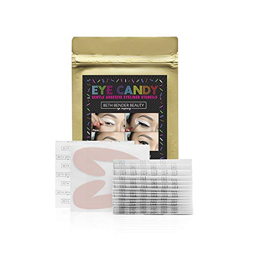 Eye Candy Eyeliner Stencil Pads - For The Perfect Winged Tip Look. Created...