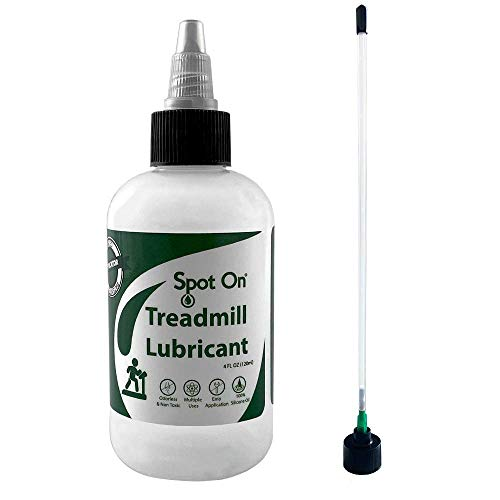 100% Silicone Treadmill Belt Lubricant - Made in The USA - with Both a...
