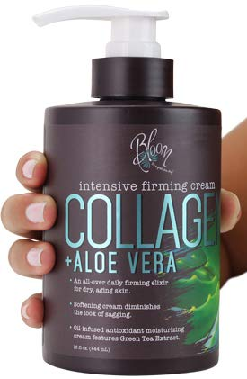 Bloom Collagen Firming Cream for Body and Face. Intensive moisturizer with...