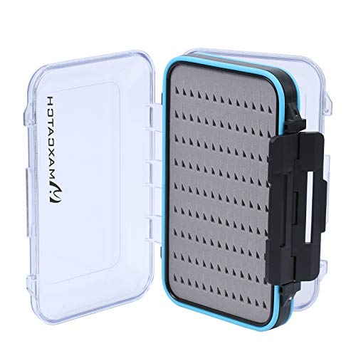 M MAXIMUMCATCH Maxcatch Waterproof Fly Box Double Clear Lid Fly Fishing Box...